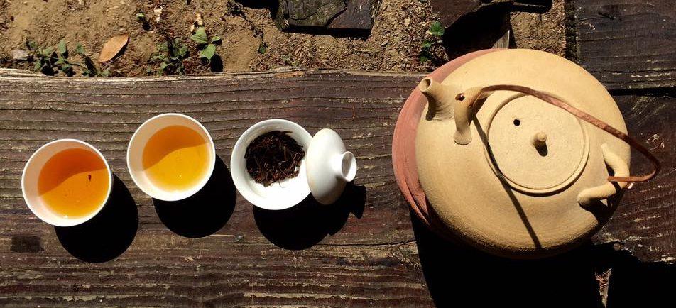 Gongfu cha in Valle Sturla