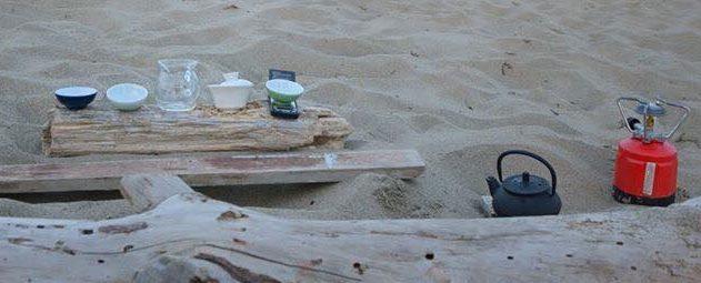 Gongfu cha in spiaggia – Ostia