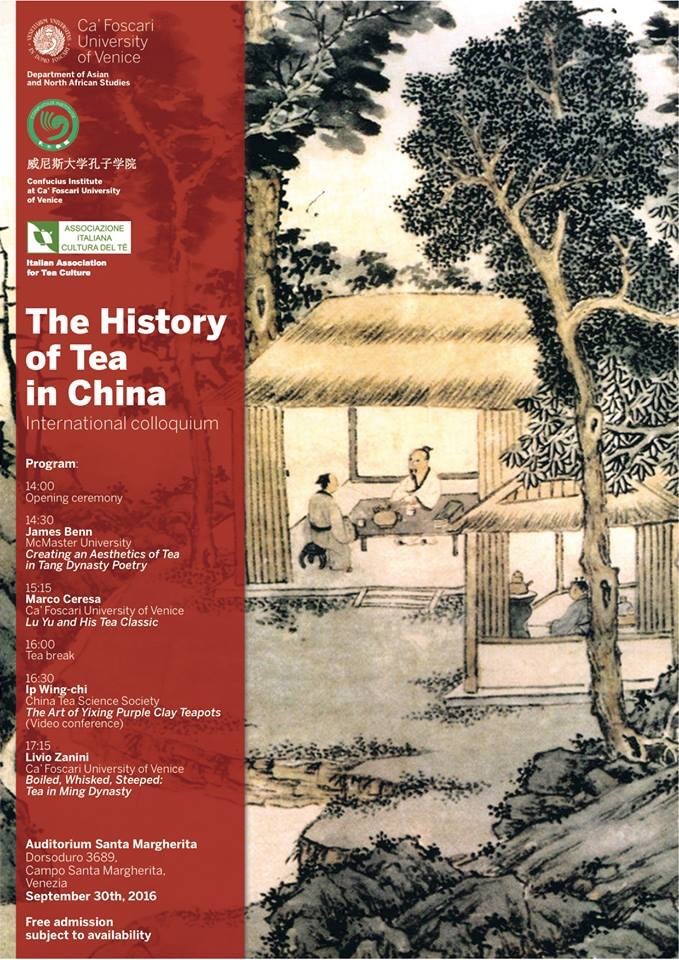 The History of Tea in China – International colloquium