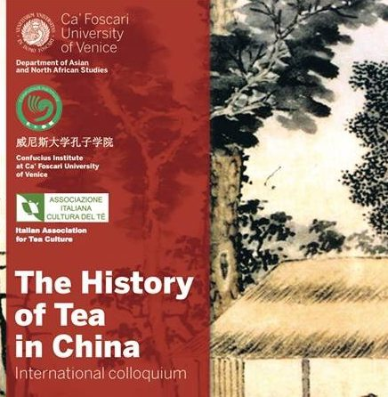 The History of Tea in China. International colloquium – Venezia