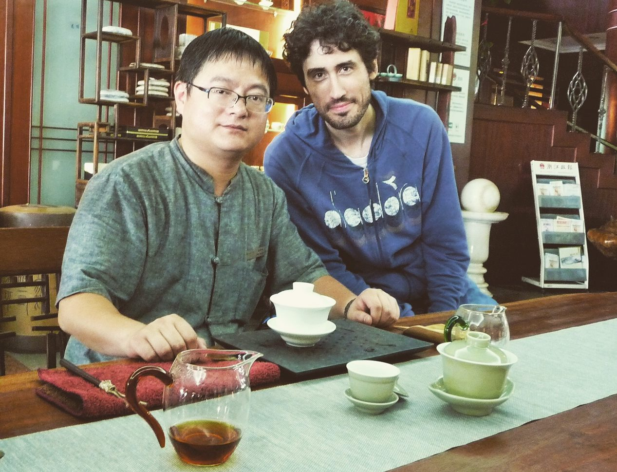 Cina on the road: Hangzhou, Hupan Ju Tea House ed il Longjing
